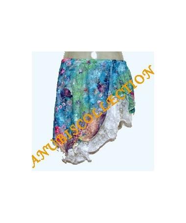 Mini falda de ensayo de encaje
