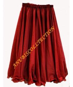 Falda doble capa